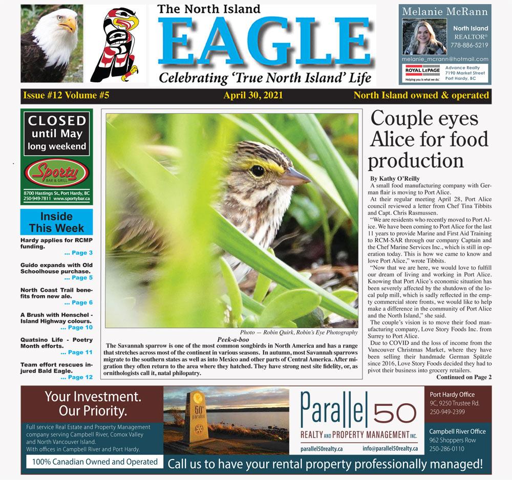 North Island Eagle